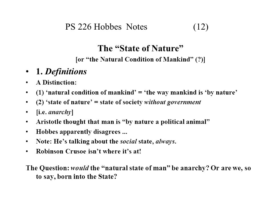 t hobbes on the natural condition of mankind pdf